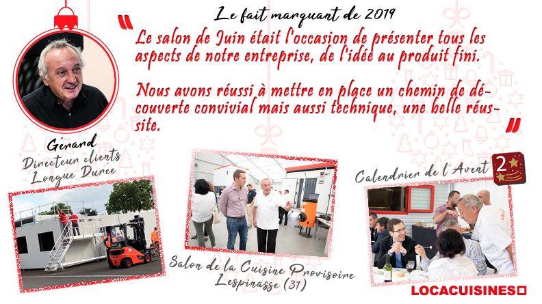 Calendrier de l'Avent Locacuisines > Gérard
