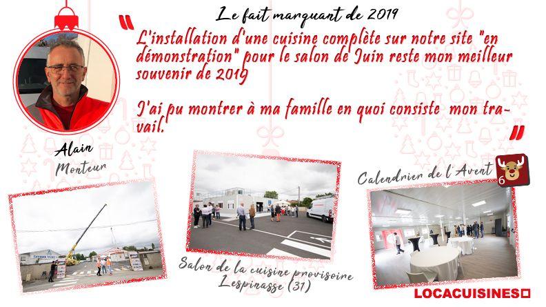 Calendrier de l'Avent Locacuisines > Alain