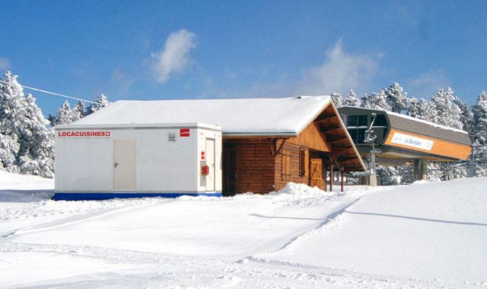 location cuisine professionnelle station de ski