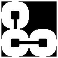 monogramme logo blanc de Locacuisines