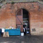 emplacement cuisine éphémère sous escalier monument historique