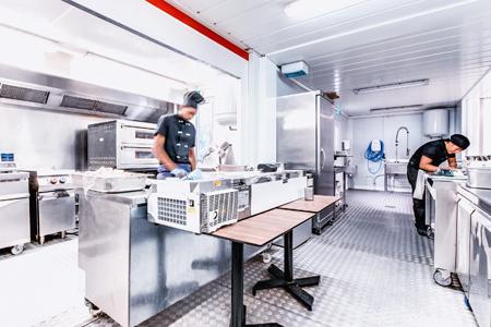 cuisine temporaire ou transportable en location lors de vos rénovation