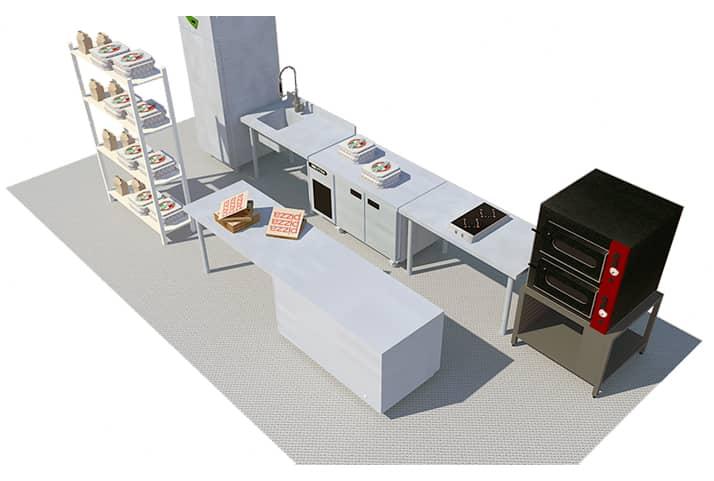 matériel pour dark kitchen : darkita