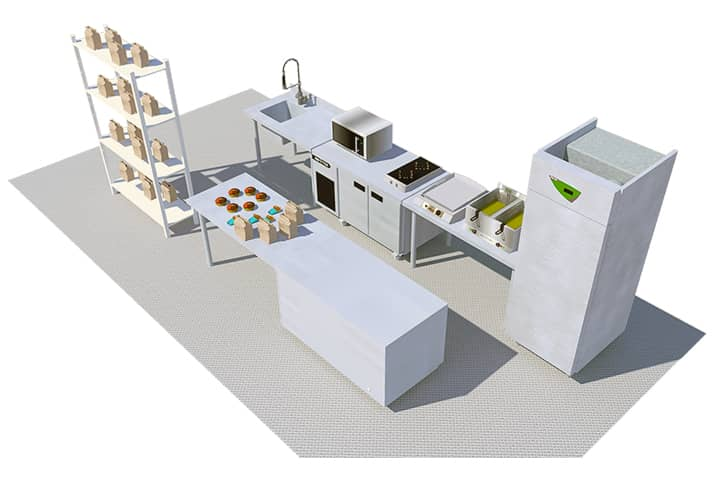 matériel pour dark kitchen : new-york DK